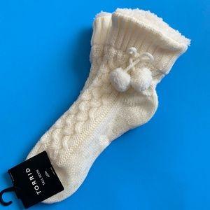 NWT TORRID warm and cozy socks w/ tassels
